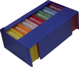Tabletten-Dispenser 1 Wo