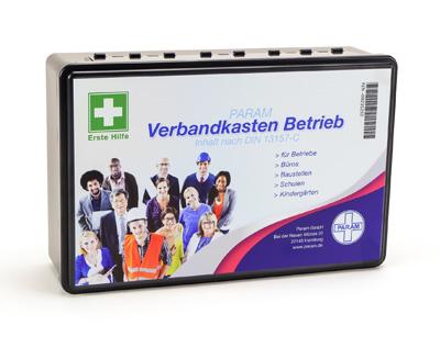 Verbandkasten für Betriebe nach DIN 13157-C